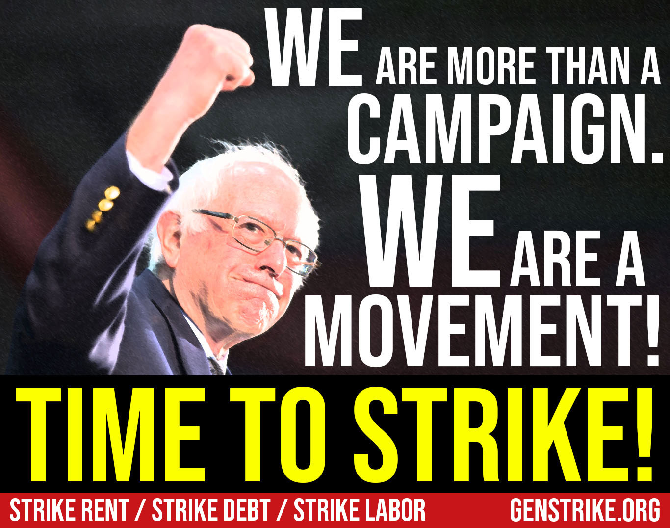 Dear Fellow Bernie Supporters — It's Time to Strike!